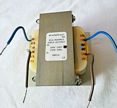 240v To 240v Isolation Transformer