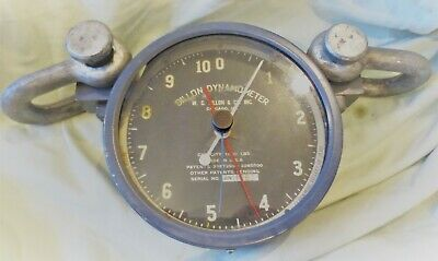 WC Dillon Dynamometer 1,000 lb Capacity Chicago IL Serial Number 11689