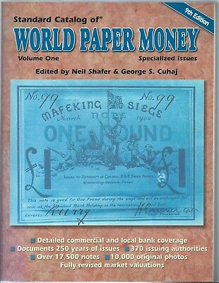 World Paper Money General  Spezial Issues ; 9. Edition