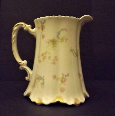 Antique Haviland Limoges Pitcher THE PRINCESS 16 Ounces France Rare