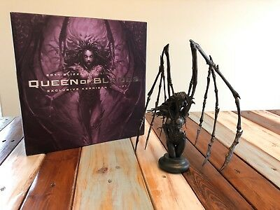 RARE Kerrigan Queen Of Blades Bust - 2011 Blizzard Holiday Employee Gift