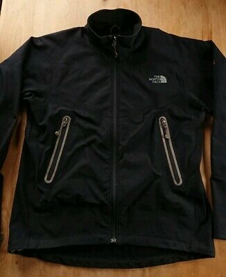 MENS THE NORTH Face Zip Up Jacket Size Large Black Summit Series ... f3b9ceeac
