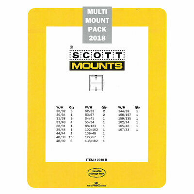 Scott Mounts 2018 Multi-Pack ( Black ) - **we Help And Support Our Veterans***
