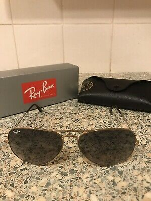 b94fd4d2b8 RAY-BAN AVIATOR SUNGLASSES - Large - Grey Gradient - £52.00 ...