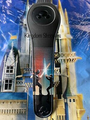 NEW DISNEY PARKS Star Wars Darth Vader Luke Skywalker BLACK Magicband 2