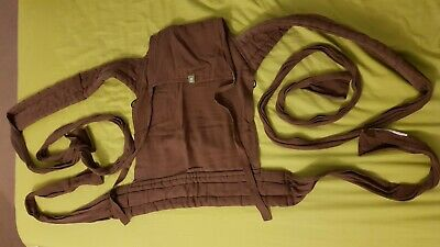 Lenny Lamb brown mei tai sling carrier toddler