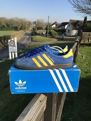 Adidas Stockholm Trainers 2014 Mens Uk 9 Casual Classic Originals Og Deadstock