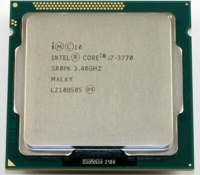 Intel Core i7 3770 3.4 - 3.9 GHz Quad Core Processor (CM8063701211600)