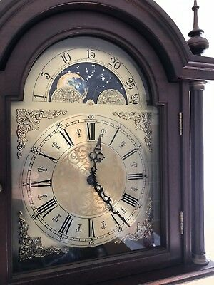Grandfather Moon phase Clock with Full Westminster chimes