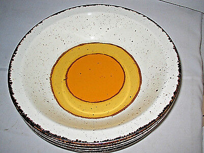 """Midwinter Stonehenge Sun Rimmed Soup Bowl 8 3/4"""" England HTF More available"""