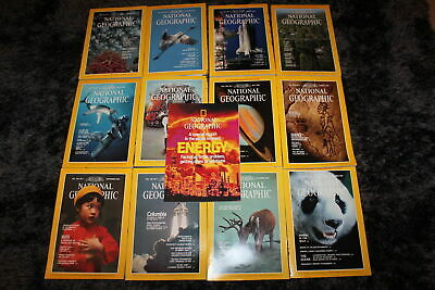 13x The National Geographic Magazine (engl) 1981 - the complete year