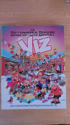 Hard backed book Viz magazine, The Bill Posters Bucket items from issues 192-201