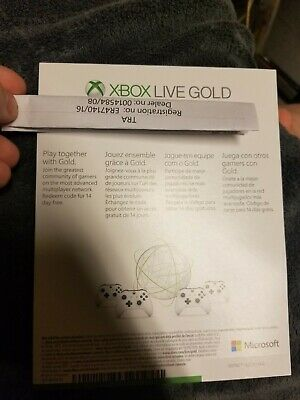Xbox Live Gold and Game Pass 14 day free trials SHIPPED INSTANTLY