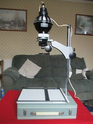 B&W Dark Room Set with Photographic Enlarger & plenty of Dark Room Equipment
