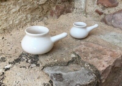 Lota Yala Neti  (grande+piccola)(large+small) SET 2 PEZZI-2 PIECES Made in Italy