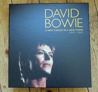David Bowie New Career In A New Town vinyl record box EMPTY