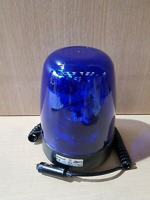 Rubbolite Blue magnetic Rotating Beacon 153/23/00 Truck Emergency Warning light