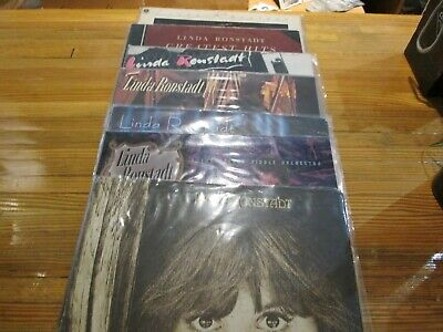 Linda Ronstadt LP Records (7) total in Lot VG/VG+