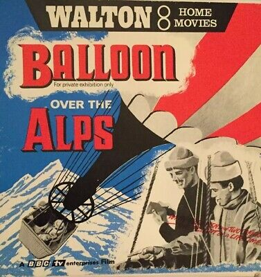 Balloon Over The Alps Std 8mm Film