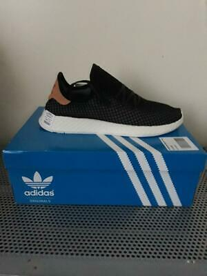 3657f4c42 Mens Adidas Deerupt Runner Black Trainers  BRAND NEW  in box UK Size 11
