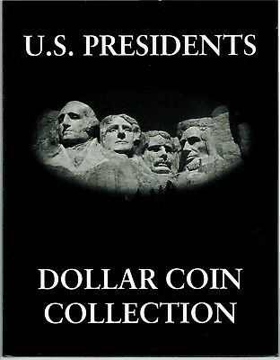 Presidential Gold Dollar 2007-2016 U.s Collection Complete Set With Folder