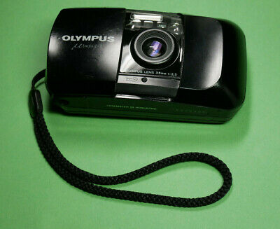 Olympus MJU 1 µ [mju:]-1 35mm Point & Shoot Compact Camera good condition