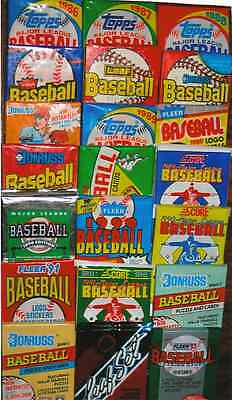 HUGE LOT 150  VINTAGE BASEBALL BALL CARDS ORIGINAL sealed PACKS