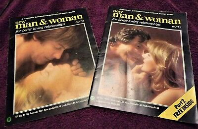 NEW MAN & WOMAN Magazine, Parts 1 and 2, From 1982, Sex, Health, Relationships
