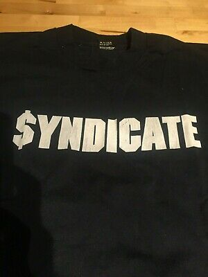 Rhyme Syndicate - T- Shirt - XL - Original Rare - (Ice-T's Record Label)
