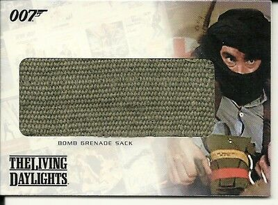 The Complete James Bond  Relic card  -  RC15  Bomb Grenade Sack