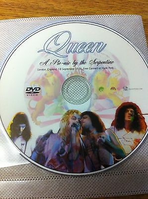 Queen Live At Hyde Park September 1976 London England Dvd Live On Tour
