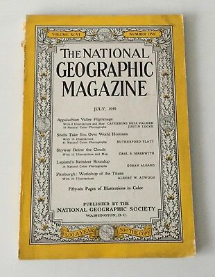 THE NATIONAL GEOGRAPHIC MAGAZINE Vol. XCVI Number One July, 1949