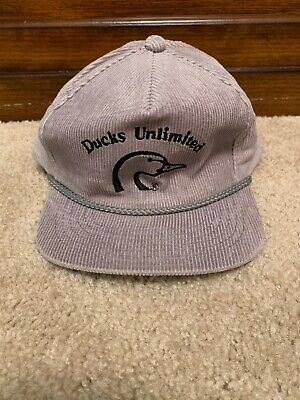 168a395afca VINTAGE DUCKS UNLIMITED Hat Snapback Rare Dorman Pacific With Pin ...