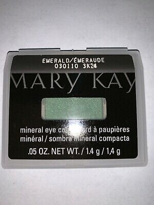 NIB Mary Kay Mineral Eye Color/Shadow ~Emerald~ Free Shipping