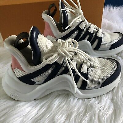 6ecde589db8f LOUIS VUITTON ARCHLIGHT Sneakers Lv 1A4Ngo Shoes Size 36 (Us 6 ...