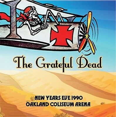 Grateful Dead - New Years Eve 1990 Oakland Coliseum Arena  3 Cd New