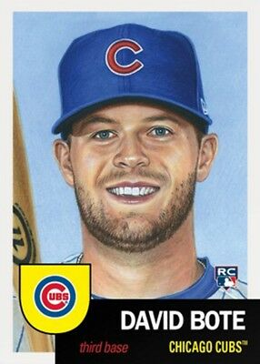 083 - 2018 Topps Living Set David Bote # 83
