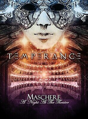 Temperance - Maschere-A Night At The Theater   Dvd+Cd New
