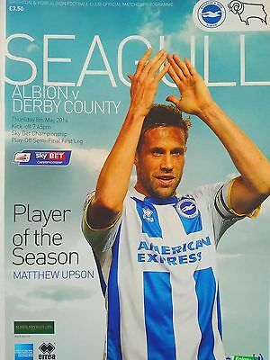 Brighton & Hove Albion v Derby County Championship Play off Semi Final 8/5/2014
