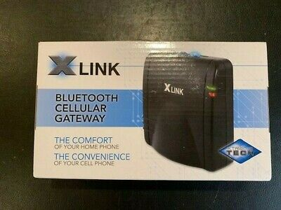 Xlink Bluetooth BT Gateway Cellular New Phone Black Link Cell New