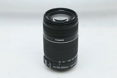 Canon - Canon Zoom Lens EF-S 55-250mm 1:4-5.6 IS Lens For Canon DSLR