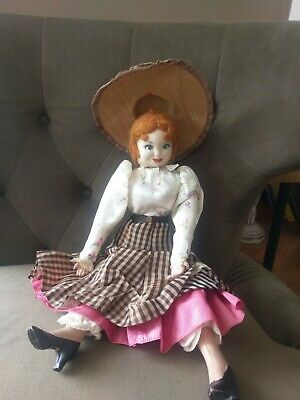 Antique and vintage dolls, lot incl rare cloth painted 1800's  beauty
