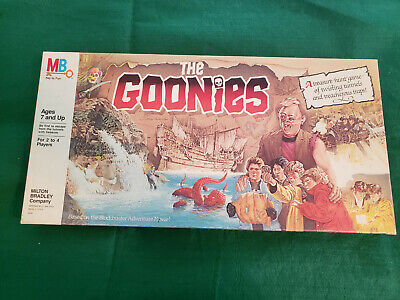 Milton Bradley The Goonies 1985 Board Game, COMPLETE