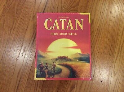 Settlers of Catan board game 5th edition - brand new!