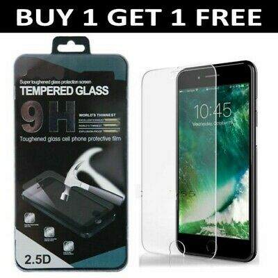 Screen Protector For Apple iPhone 7 PLUS - Tempered Glass 100%