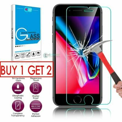 Screen Protector For Apple iPhone 8 Plus - Tempered Glass 100% REAL