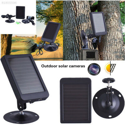 Solar Panel Charger for Hunting Camera Built-in 1500mAH Lithium Battery UK Stock