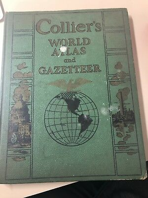 1943 Colliers World Atlas And Gazetter