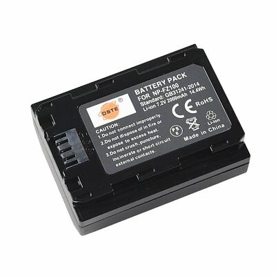 DSTE Compatible NP-FZ100 Battery for Sony Alpha 9, A9/ILCE-9,A9S,A7III/ILCE-7M3