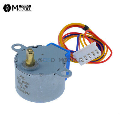 28BYJ-48 Valve Gear Stepper Motor DC 5V 4 Phase Step Motor Reduction For Arduino